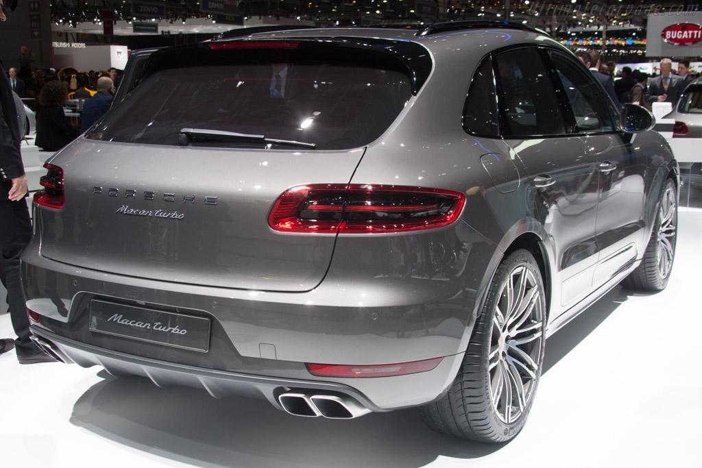 Porsche Macan Turbo    - 2014 Geneva International Motor Show