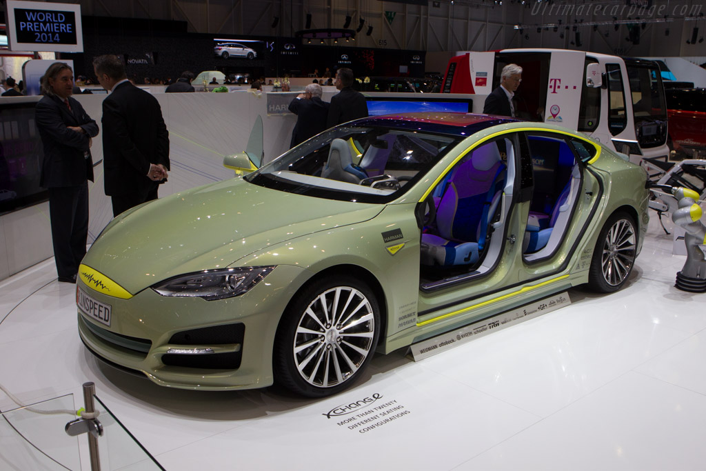 Rinspeed XchangE    - 2014 Geneva International Motor Show