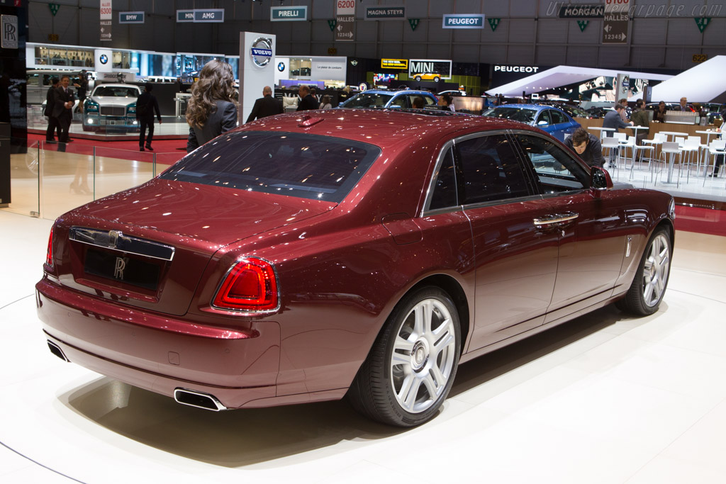 Rolls-Royce Ghost Series II    - 2014 Geneva International Motor Show