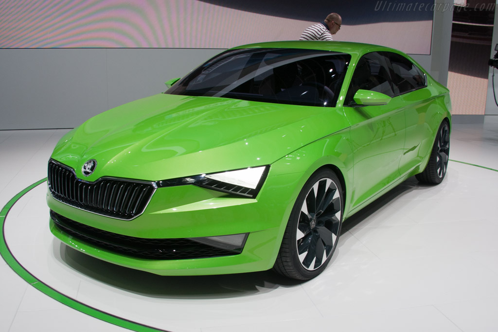 Skoda Vision C    - 2014 Geneva International Motor Show