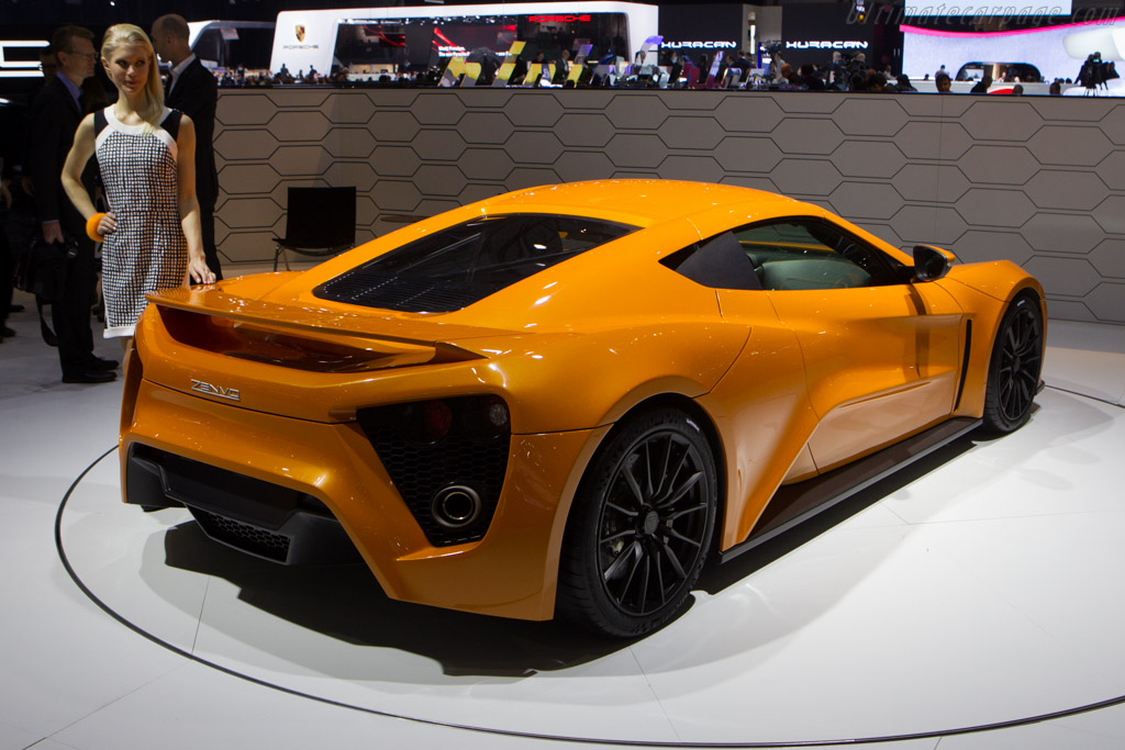 Zenvo ST1    - 2014 Geneva International Motor Show