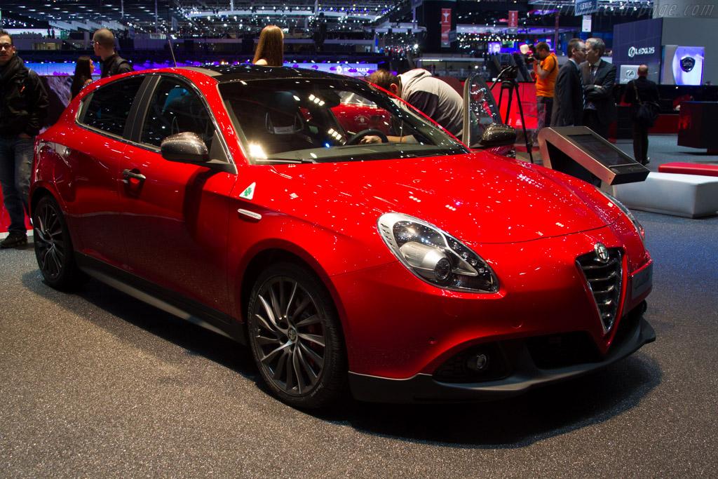 Alfa Romeo Giulietta Quadrifoglio Verde    - 2015 Geneva International Motor Show
