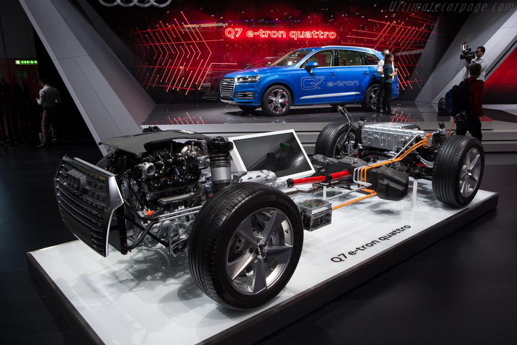 Audi Q7 e-tron quattro    - 2015 Geneva International Motor Show