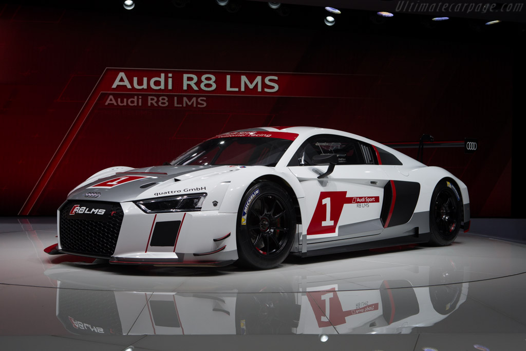 Audi R8 Lms 2015 Geneva International Motor Show