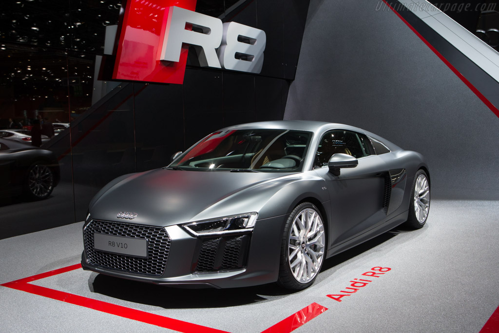 Audi R8 V10    - 2015 Geneva International Motor Show