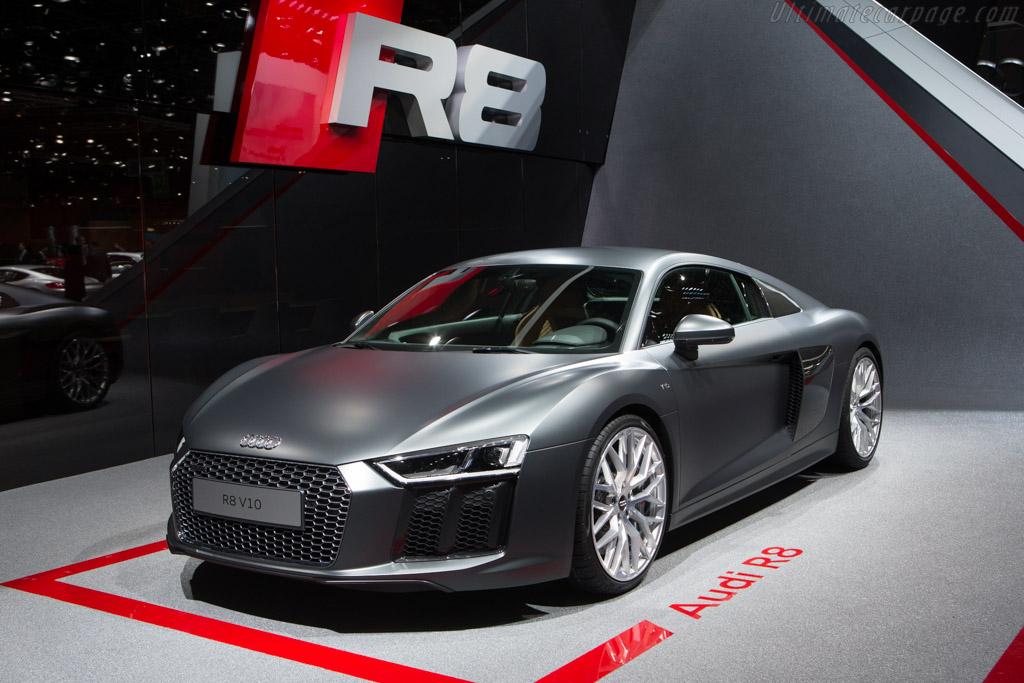 Audi R8 V10    - 2015 Geneva International Motor Show