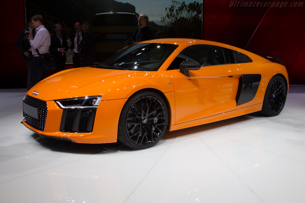 Audi R8 V10 plus   - 2015 Geneva International Motor Show