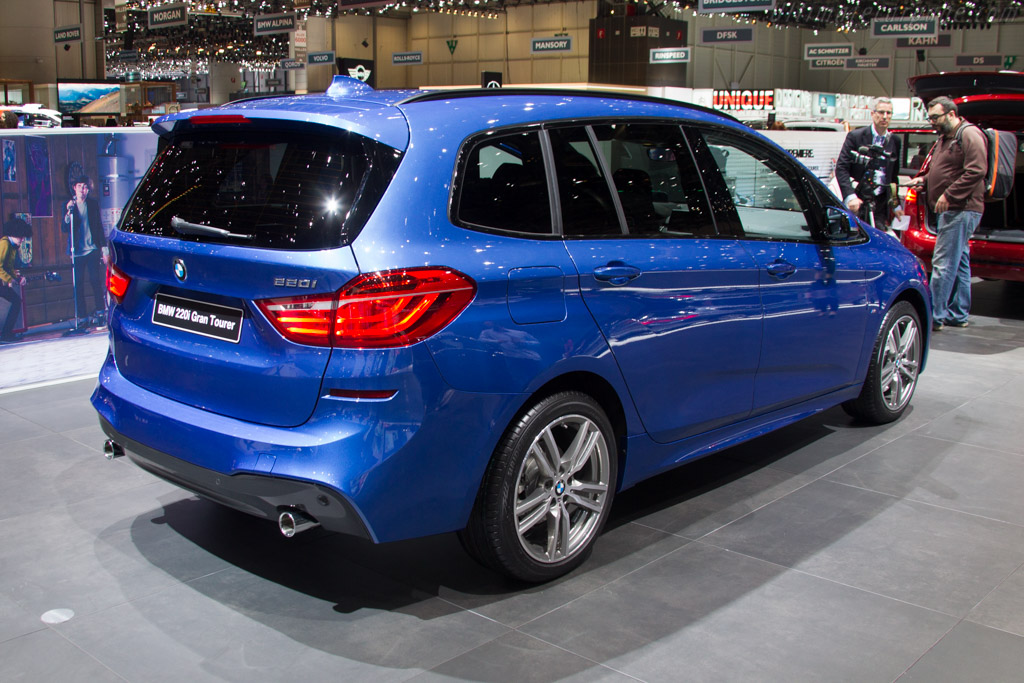 BMW 220i Active Tourer    - 2015 Geneva International Motor Show
