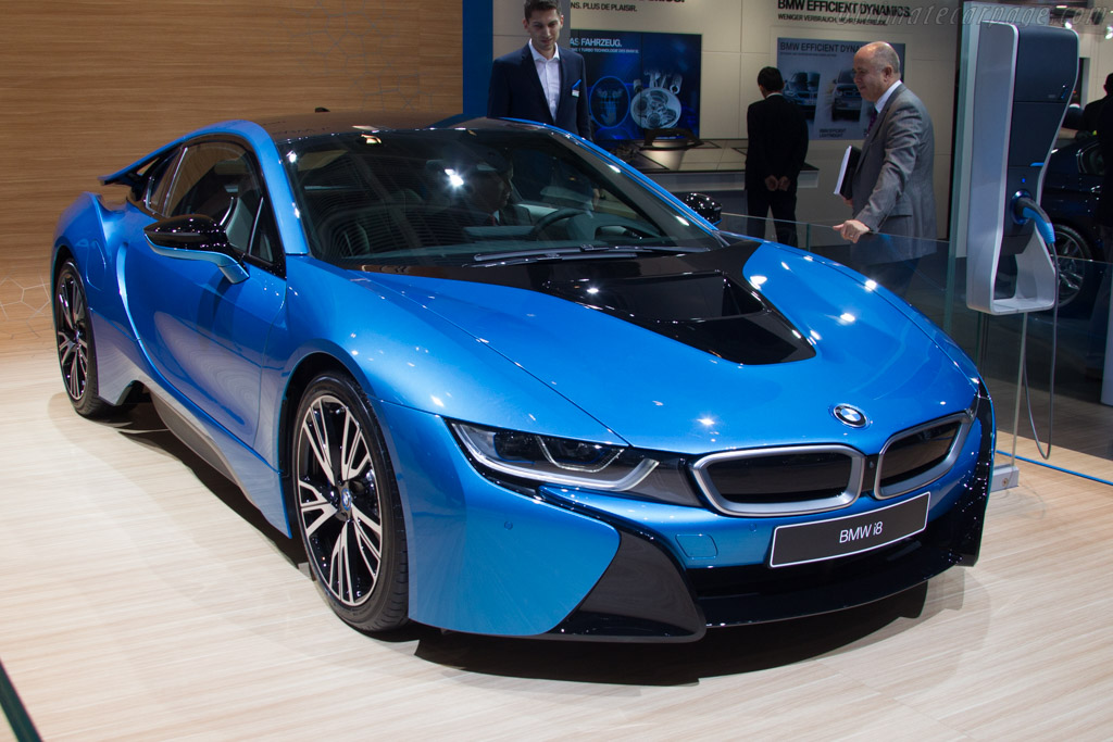 BMW i8    - 2015 Geneva International Motor Show