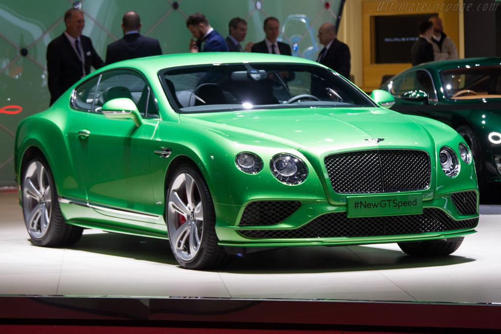 Bentley Continental GT Speed    - 2015 Geneva International Motor Show