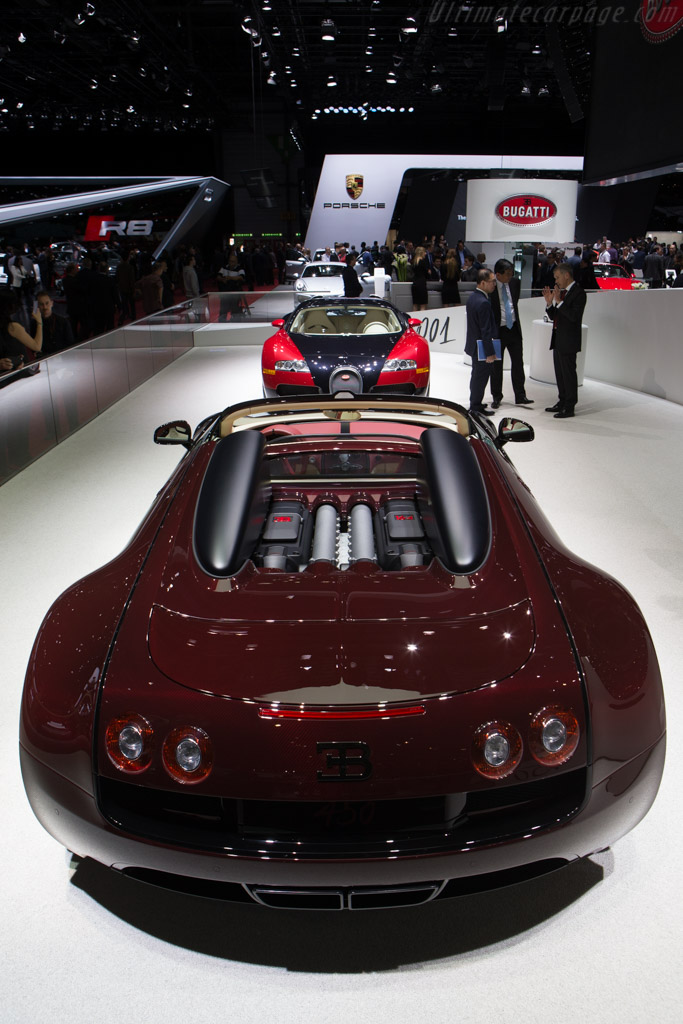 Bugatti Veyron Grand Sport Vitesse 'La Finale'    - 2015 Geneva International Motor Show
