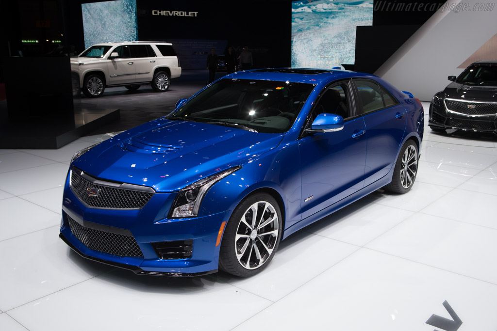 Cadillac ATS-V    - 2015 Geneva International Motor Show
