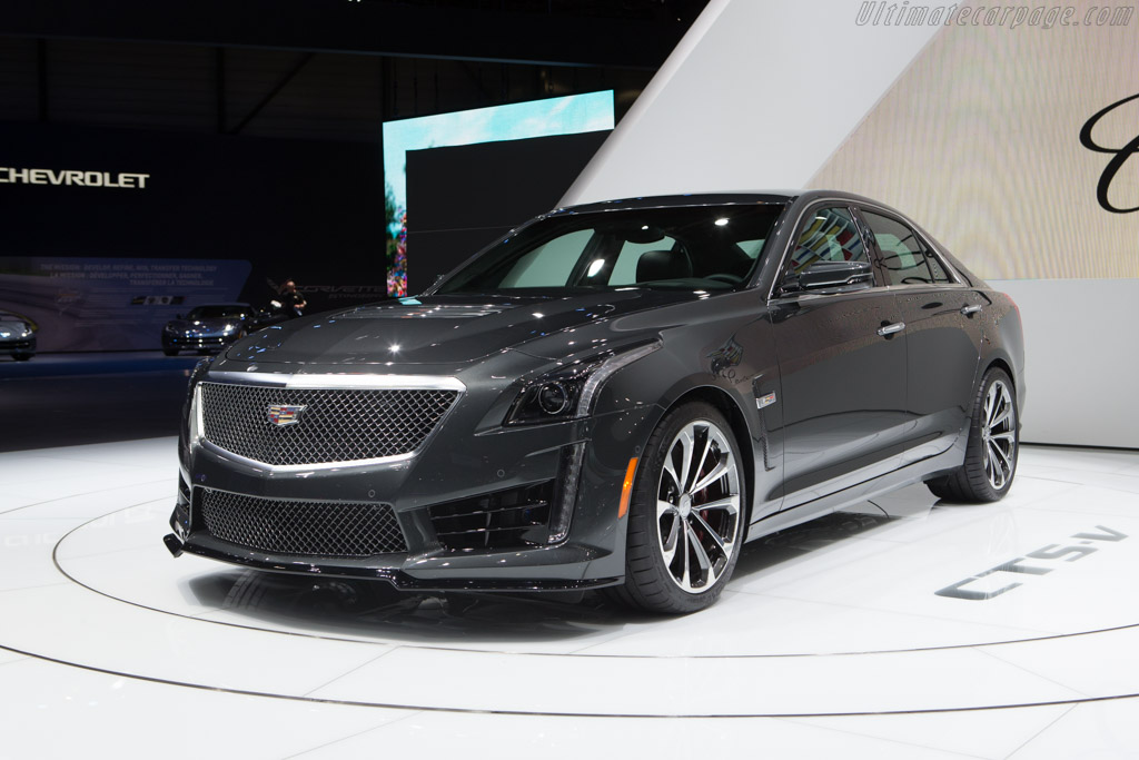 Cadillac CTS-V    - 2015 Geneva International Motor Show