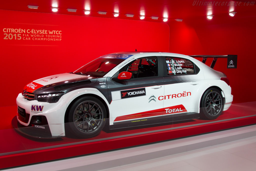 Citroën C-Elysee WTCC    - 2015 Geneva International Motor Show