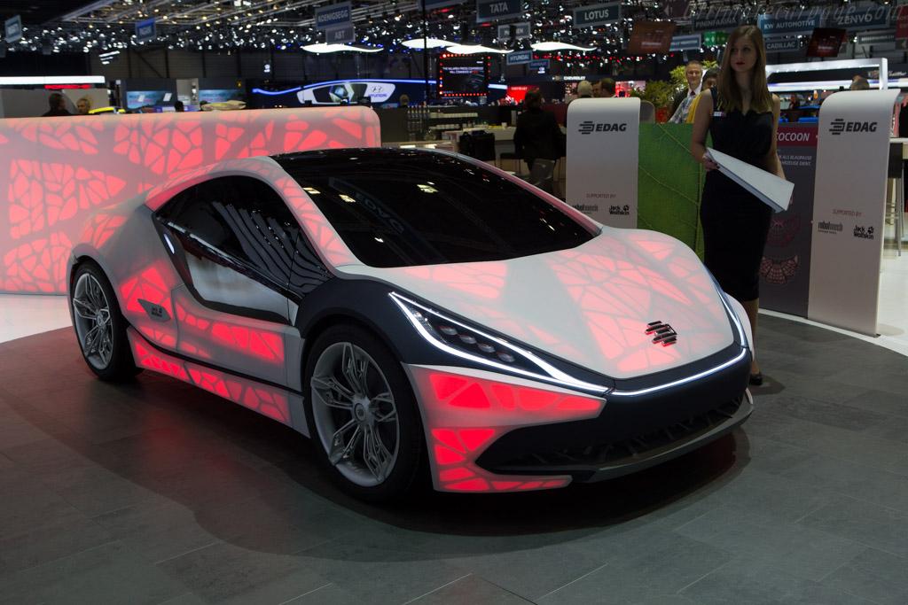 Edag Light Cocoon    - 2015 Geneva International Motor Show
