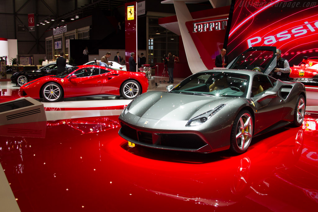 Ferrari 488 GTB    - 2015 Geneva International Motor Show