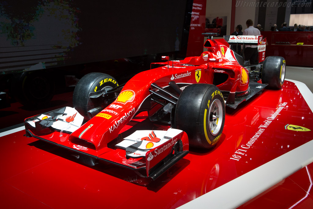 Ferrari F14 T    - 2015 Geneva International Motor Show