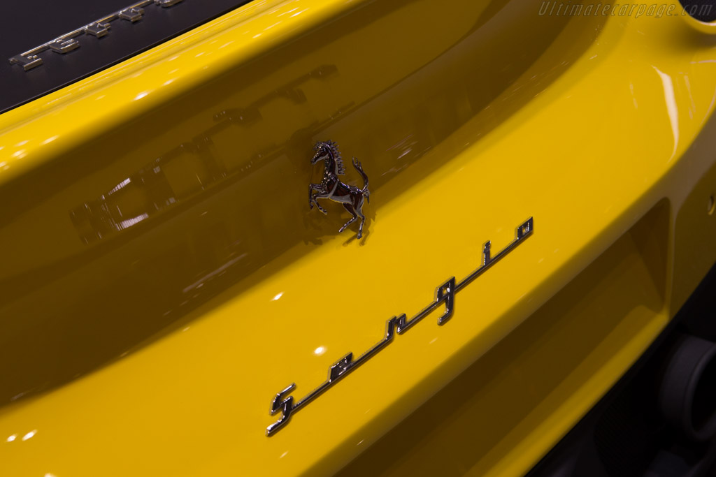 Ferrari Sergio - Chassis: 205529   - 2015 Geneva International Motor Show