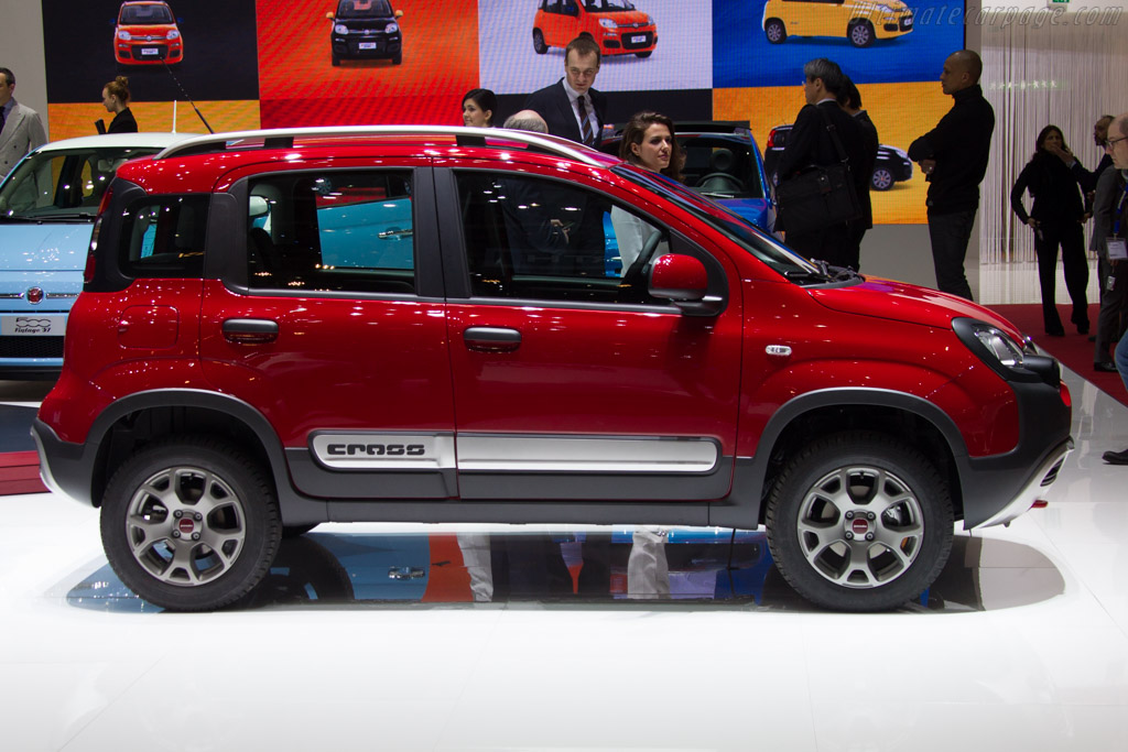 Fiat Panda Cross    - 2015 Geneva International Motor Show