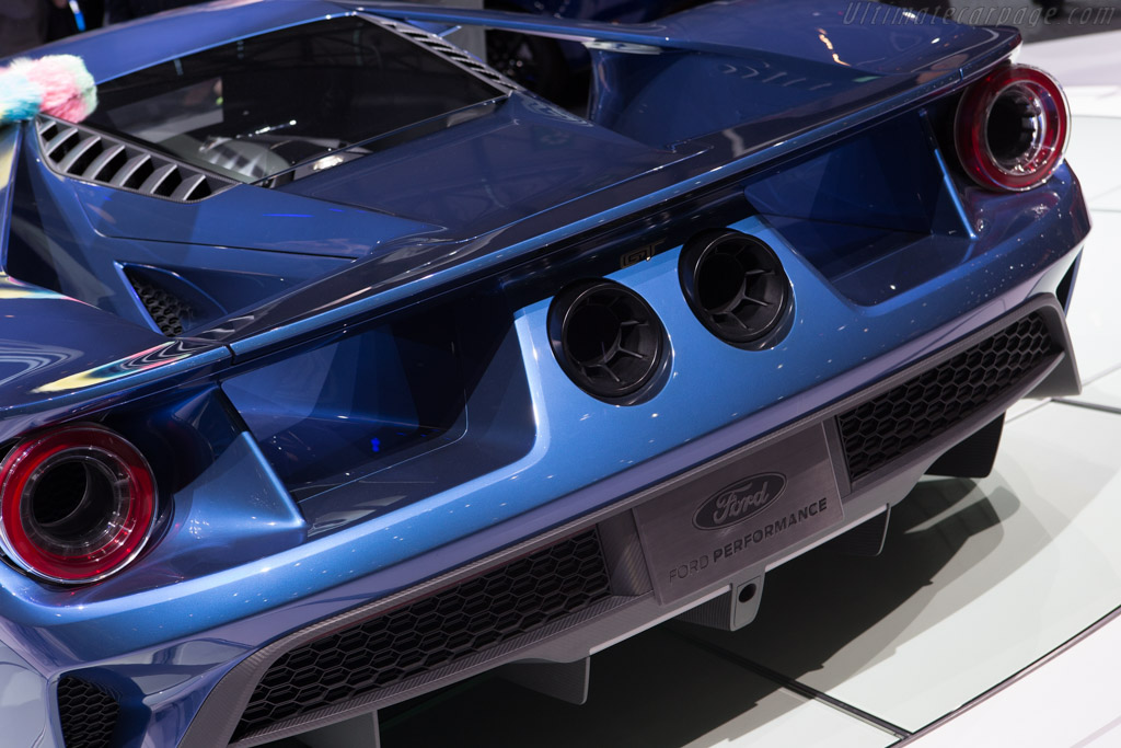 Ford GT    - 2015 Geneva International Motor Show