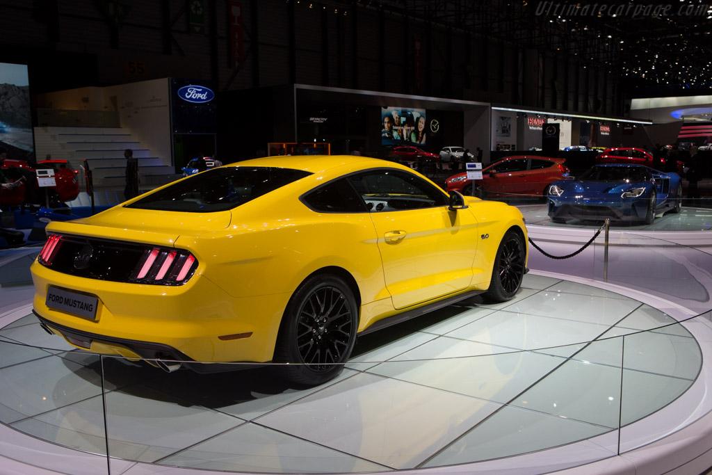 Ford Mustang Gt 2015 Geneva International Motor Show