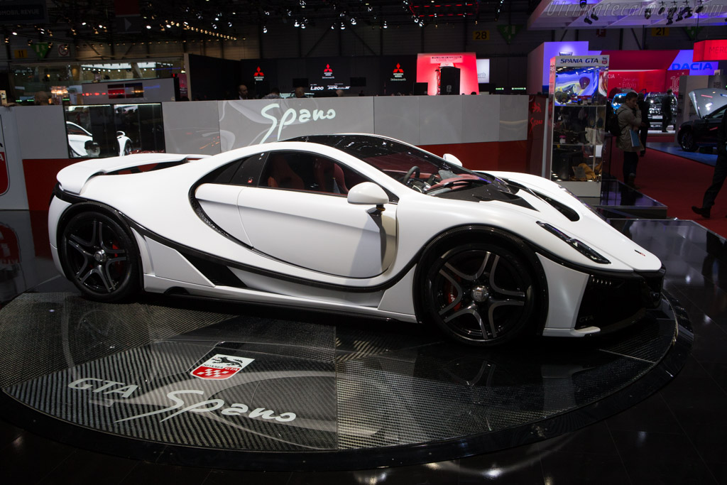 GTA Spano    - 2015 Geneva International Motor Show