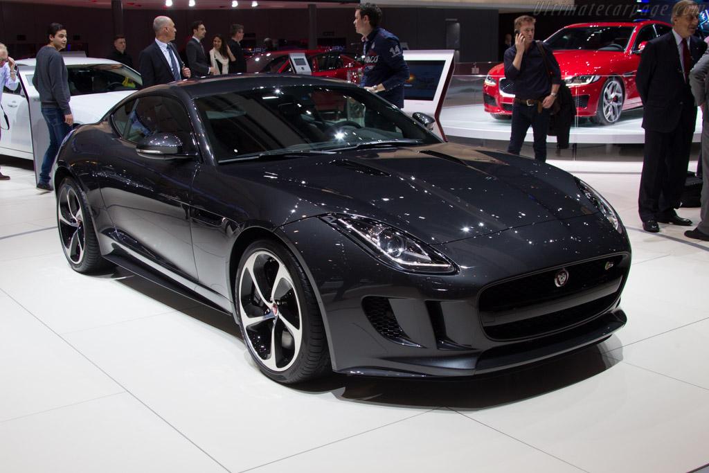 Jaguar F-Type Coupe S    - 2015 Geneva International Motor Show