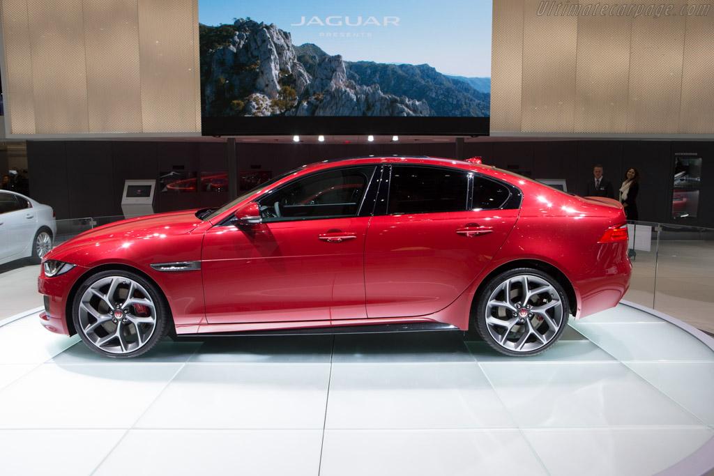 jaguar xe s 2015 geneva international motor show