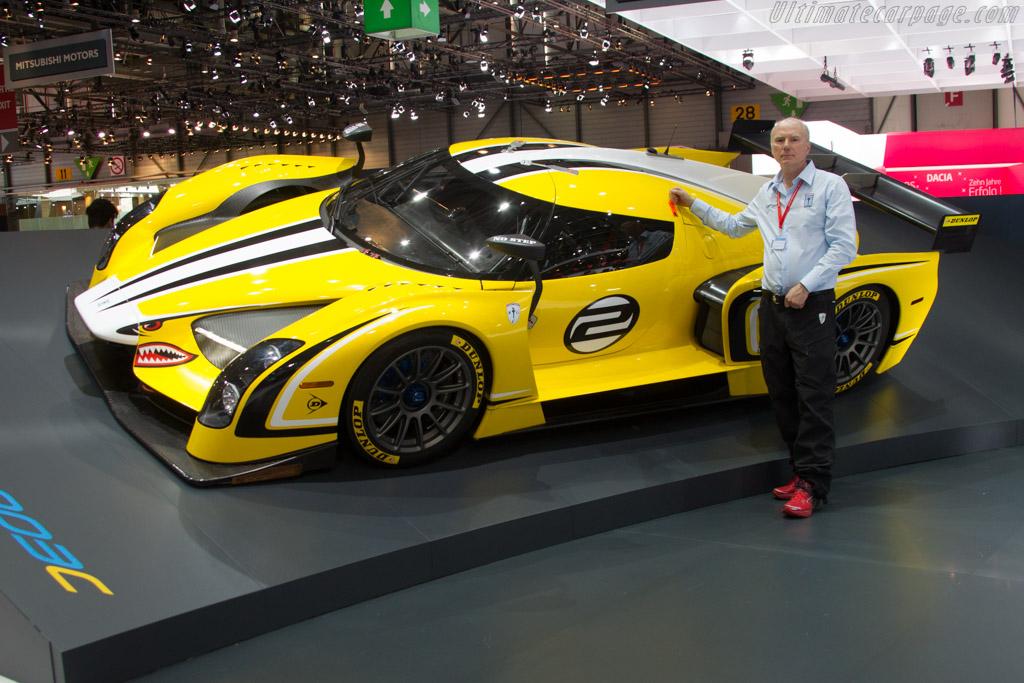 Jim Glickenhaus    - 2015 Geneva International Motor Show