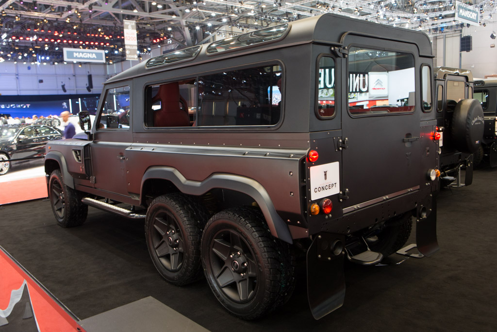 Kahn Huntsman Concept    - 2015 Geneva International Motor Show