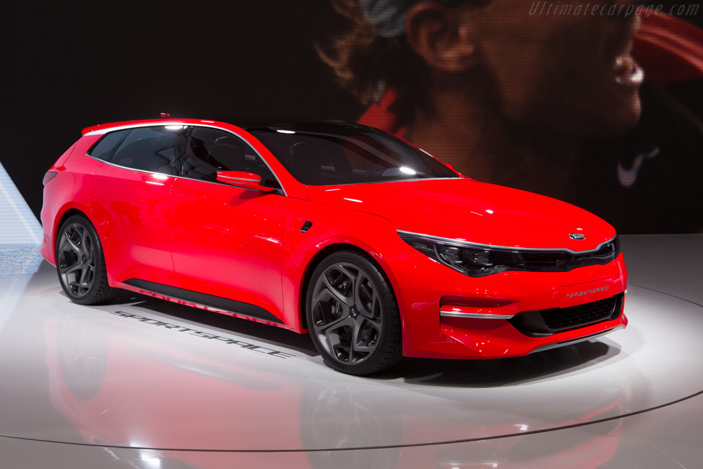 Kia Sportspace Concept    - 2015 Geneva International Motor Show