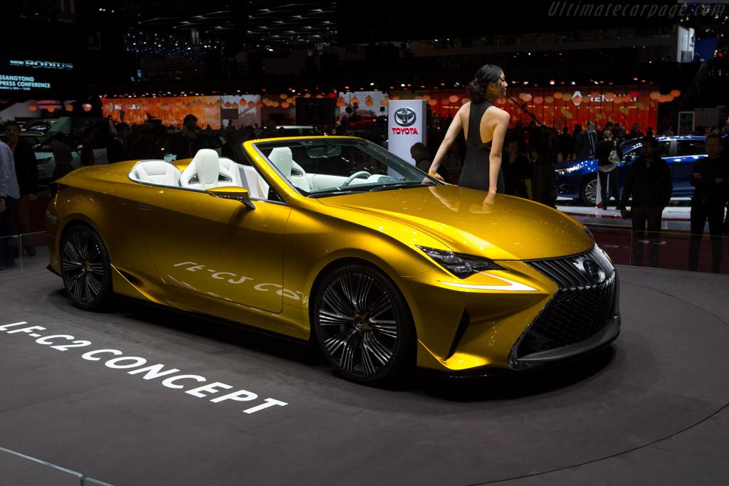 Lexus LF-C2 Concept    - 2015 Geneva International Motor Show