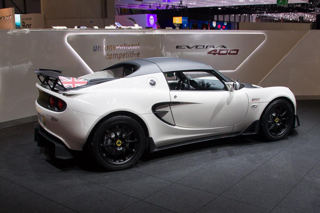 Lotus Elise 220 Cup    - 2015 Geneva International Motor Show