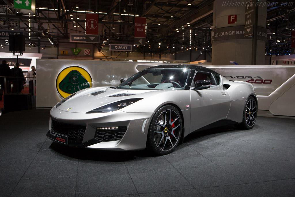 Lotus Evora 400    - 2015 Geneva International Motor Show
