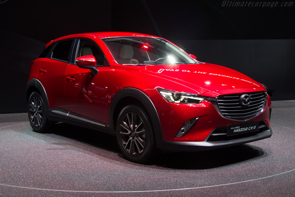 Mazda CX-3    - 2015 Geneva International Motor Show