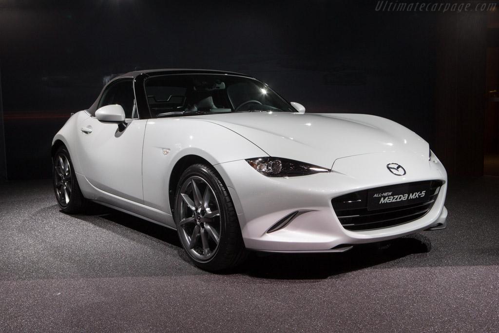 Mazda MX-5   - 2015 Geneva International Motor Show