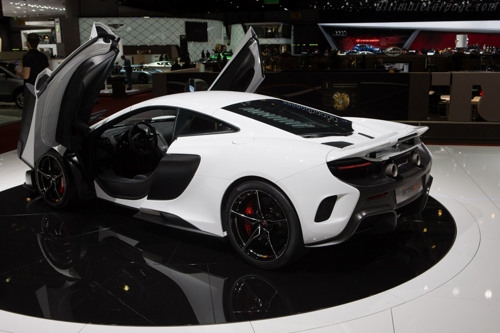 McLaren 675LT    - 2015 Geneva International Motor Show