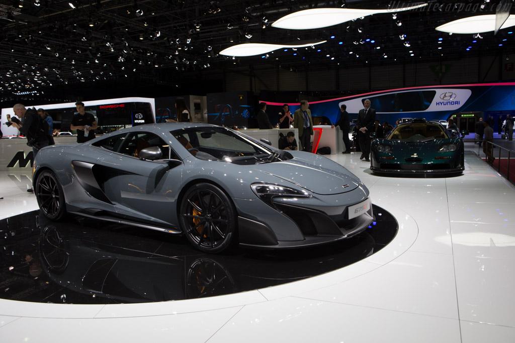 McLaren 675LT    - 2015 Geneva International Motor Show