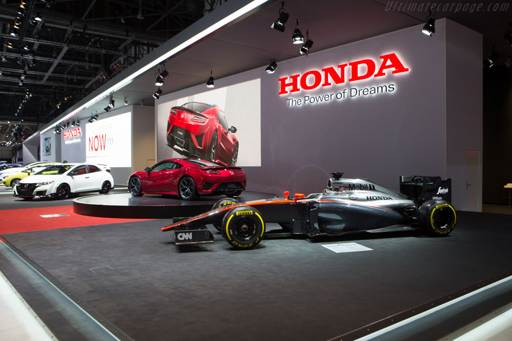 McLaren MP4/30 Honda    - 2015 Geneva International Motor Show