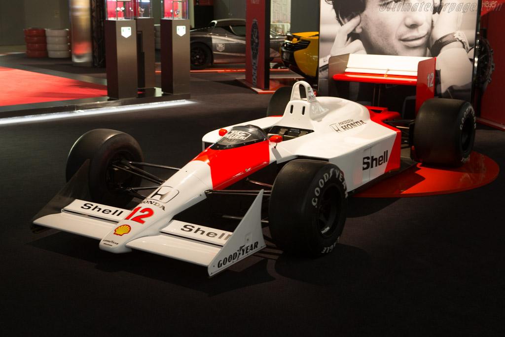 McLaren MP4/4 Honda - Chassis: MP4/4-6   - 2015 Geneva International Motor Show
