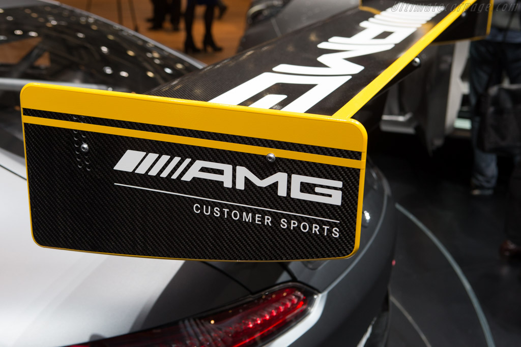 Mercedes-AMG GT3    - 2015 Geneva International Motor Show