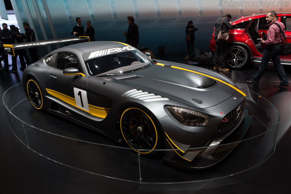 Mercedes-AMG GT3    - 2015 Geneva International Motor Show