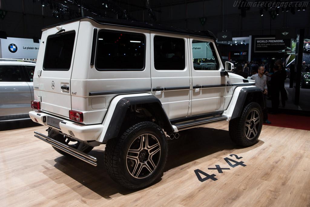 Mercedes-Benz G 500 4x4    - 2015 Geneva International Motor Show