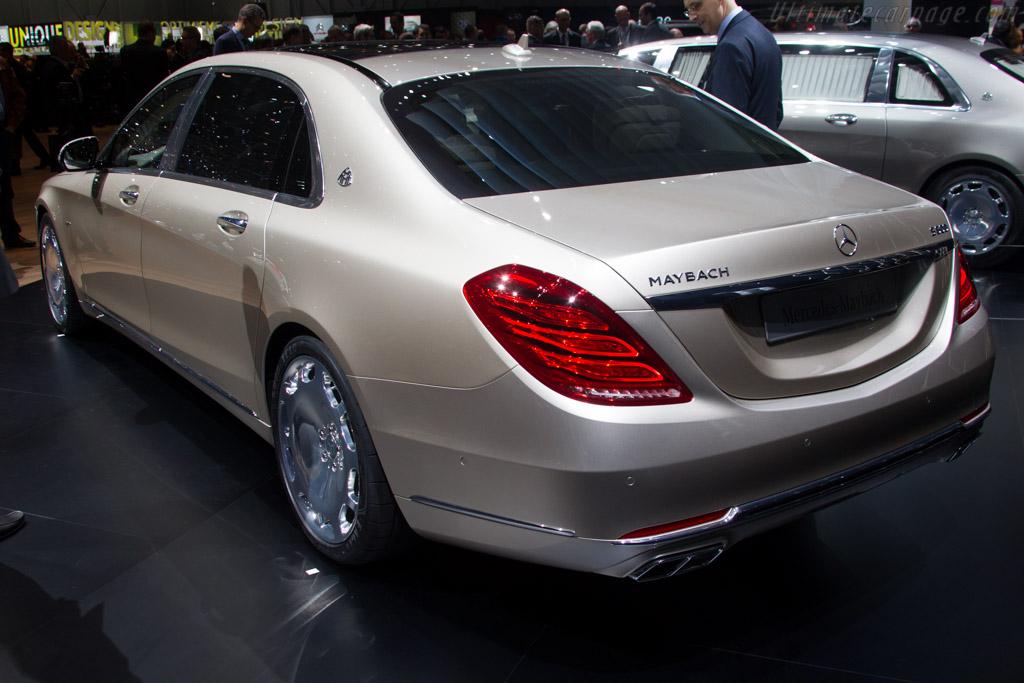Mercedes-Maybach S 600    - 2015 Geneva International Motor Show