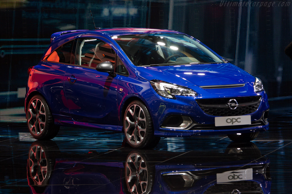 Opel Corsa OPC    - 2015 Geneva International Motor Show
