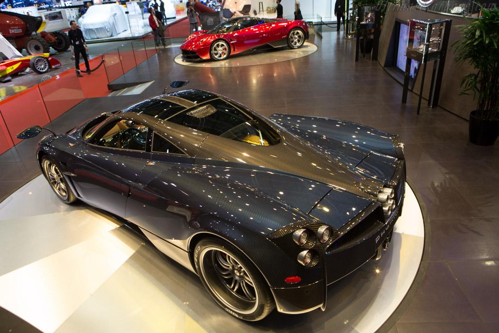 Pagani Huayra - Chassis: ZA9H11UA5ESF76096   - 2015 Geneva International Motor Show