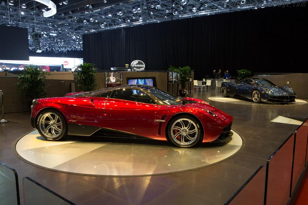 Pagani Huayra - Chassis: ZA9H11EAYYSF76007   - 2015 Geneva International Motor Show