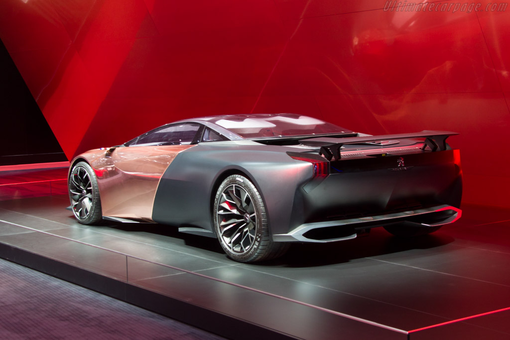 Peugeot Onyx Concept    - 2015 Geneva International Motor Show