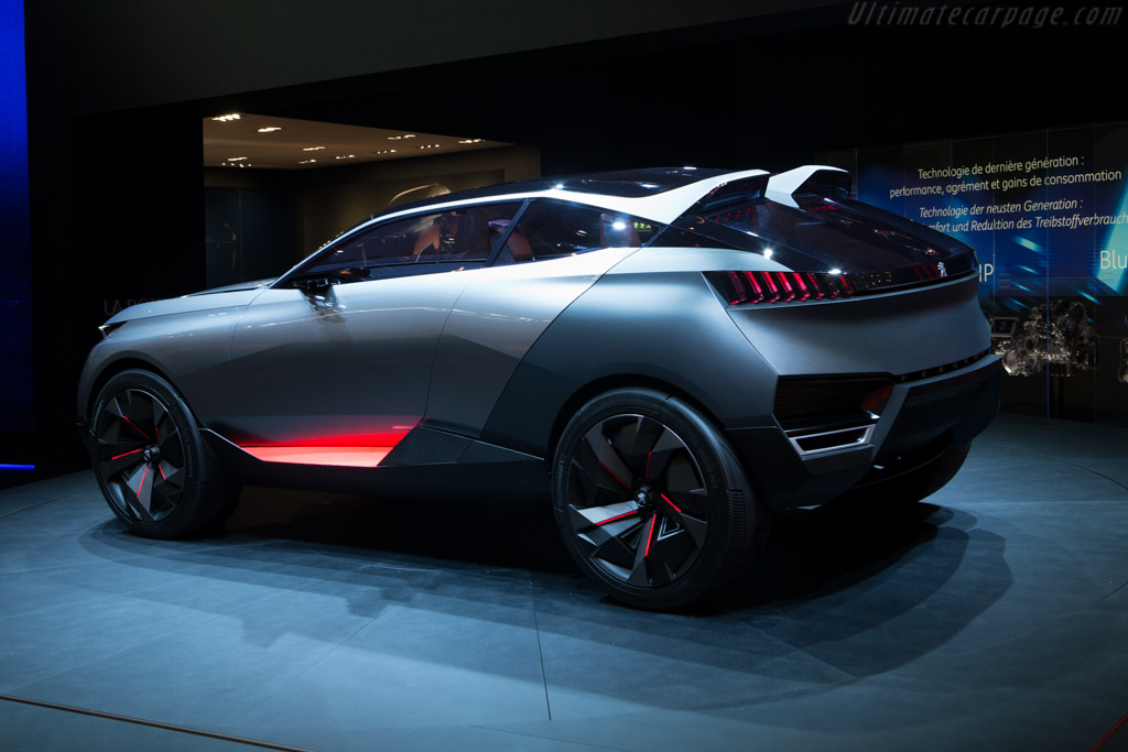 Peugeot Quartz Concept    - 2015 Geneva International Motor Show