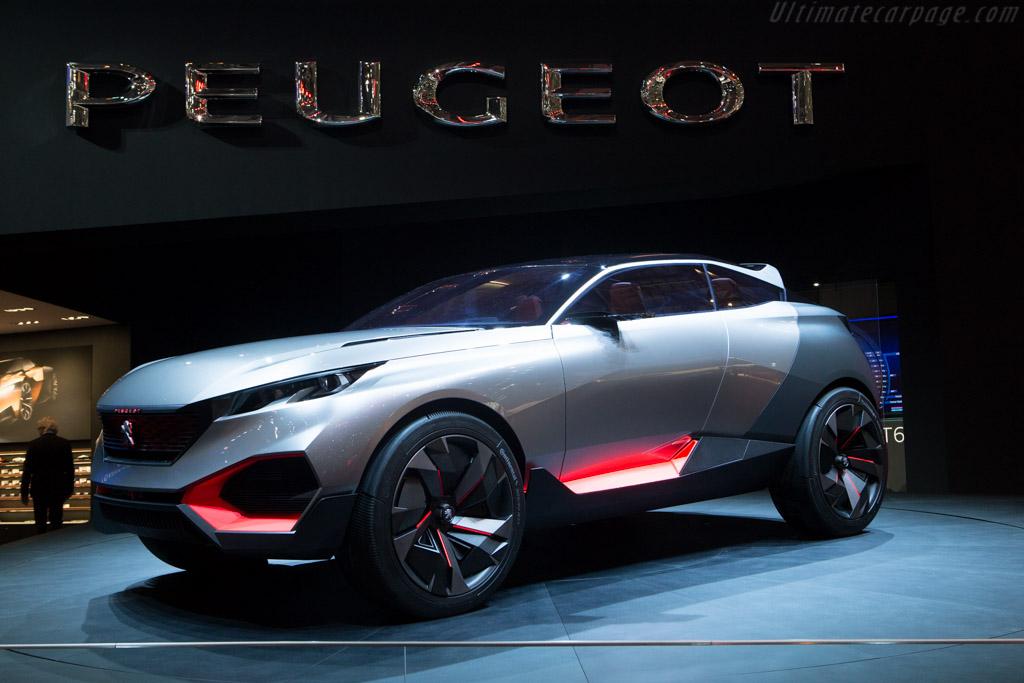 Peugeot Quartz Concept    - 2015 Geneva International Motor Show
